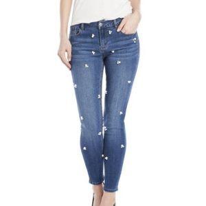NWT Kensie Jeans Crop Skinny Denim